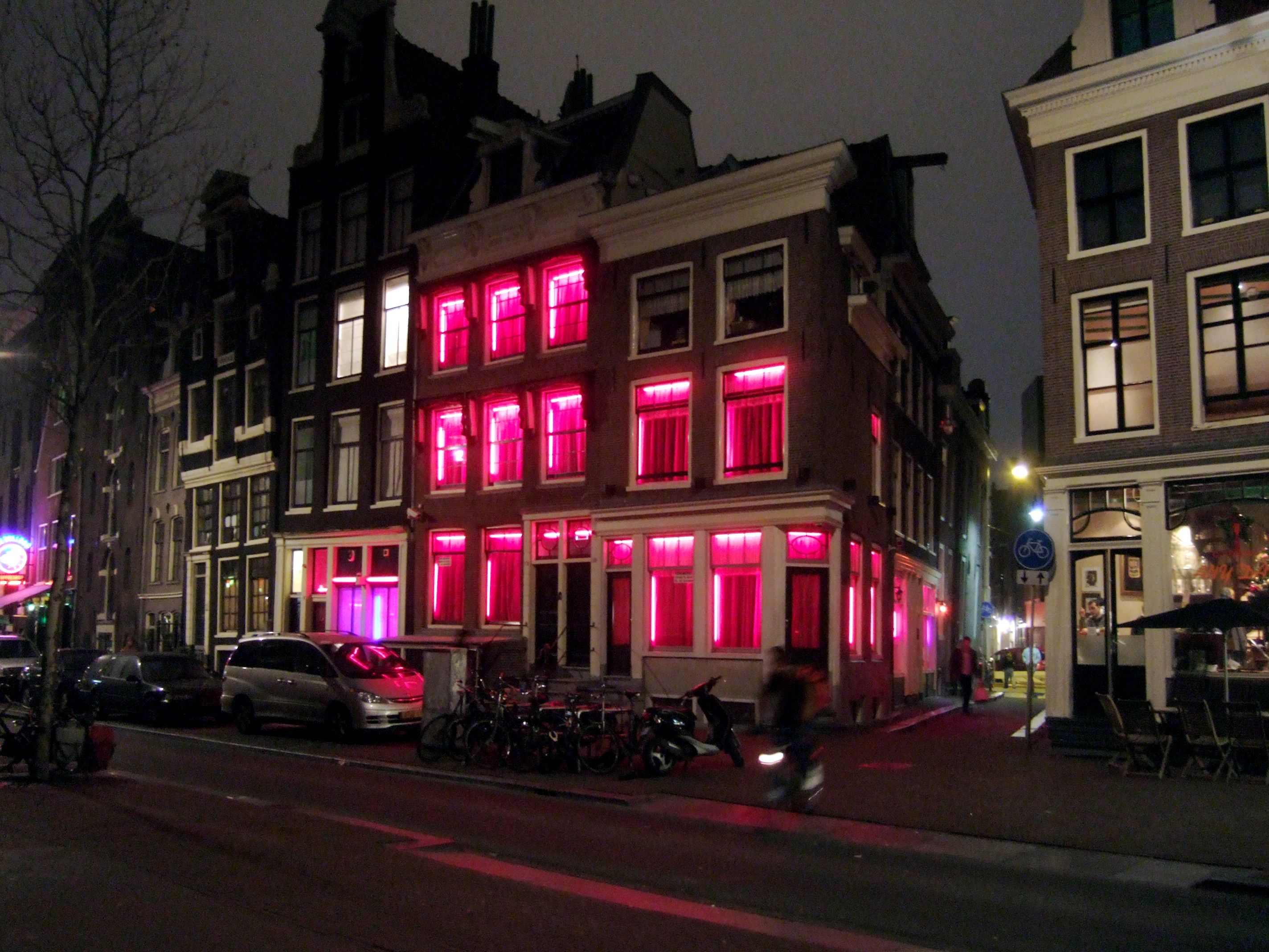 Amsterdam Red Light District Jesus Came To Set The Captive Free