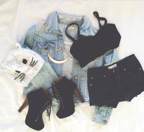 ❤ tank  #clothes  necklace  #fashion  #beautiful -  #shorts