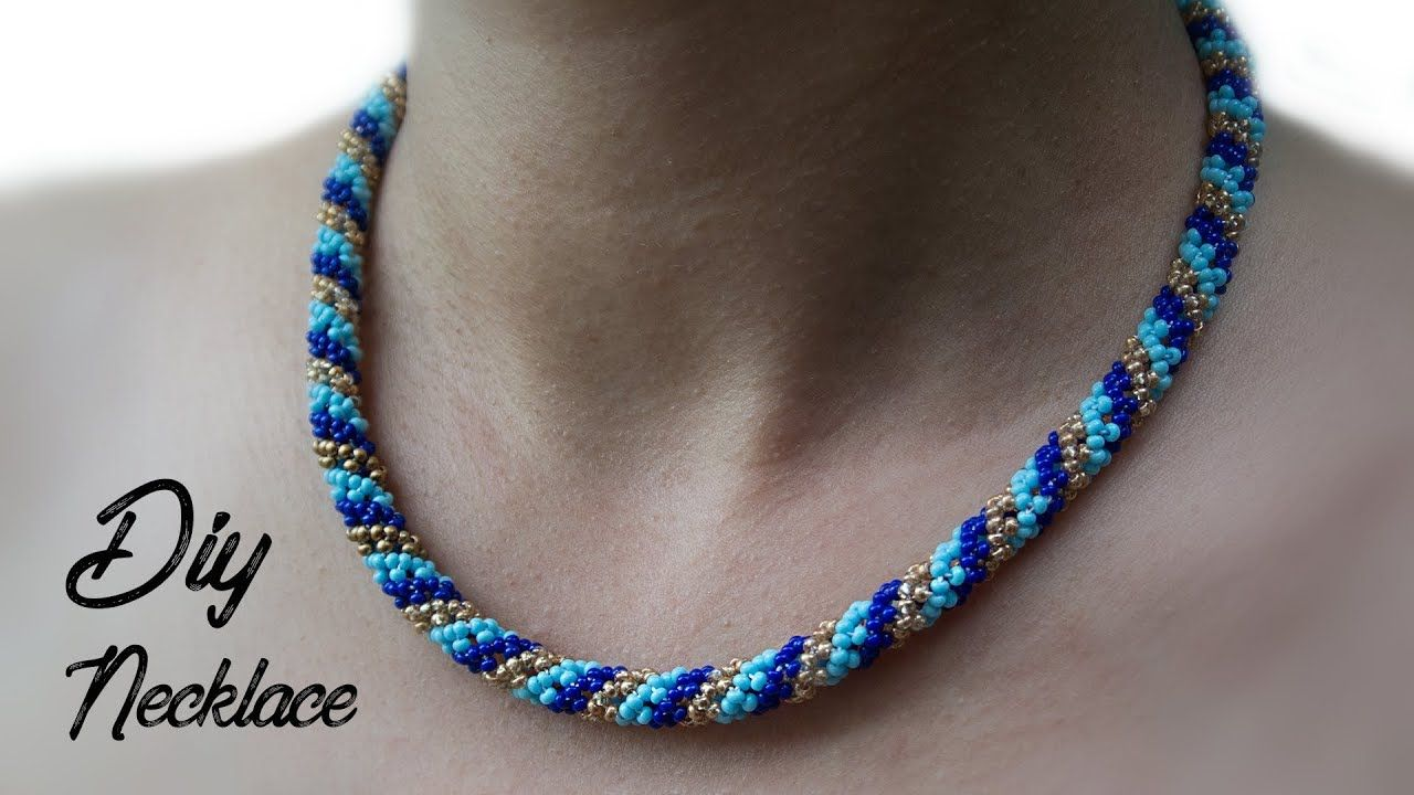 Diy Necklace Beaded Tutorial Gift You With