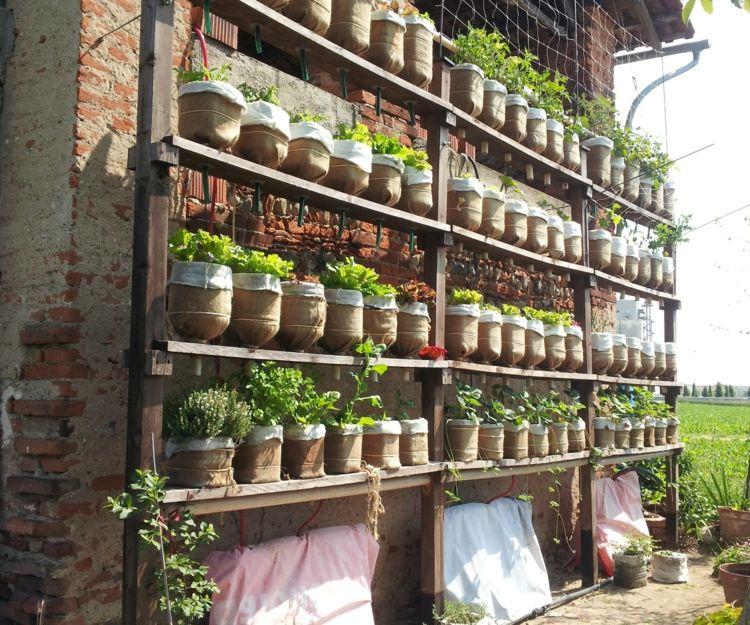 34 IDEAS - opciones de macetas pequeñas, huerto urbano, jardin