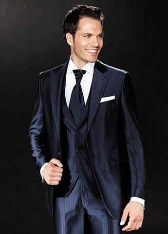 Navy Blue Tuxedos for Weddings | Shinny Navy Blue Italian Suit For ...
