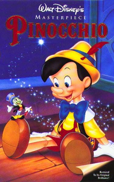 Image result for pinocchio disney poster