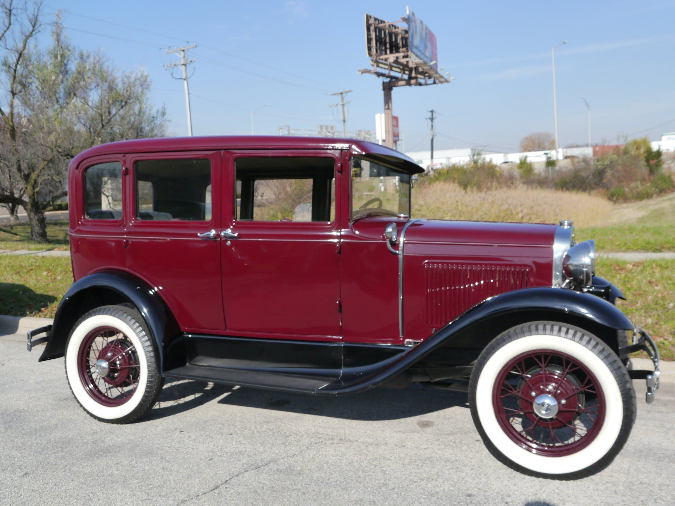 1930 Ford Model A Deluxe Fordor Town Sedan ***FOR SALE ...