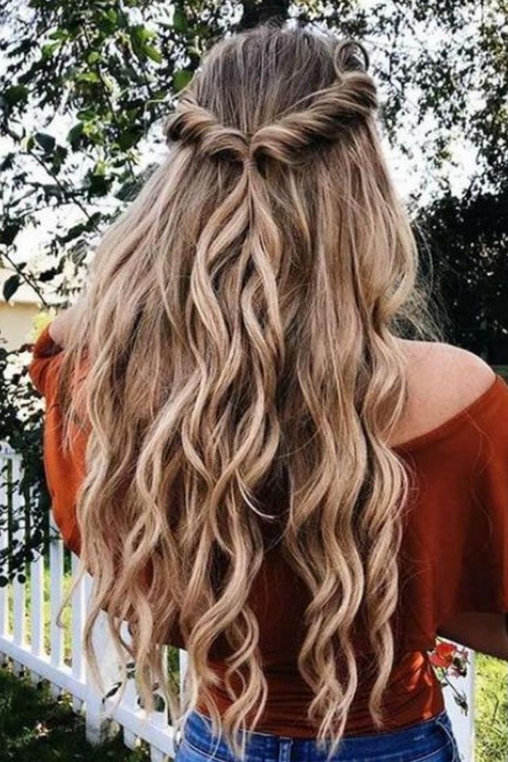 Coiffure : Coupe sur cheveux longs