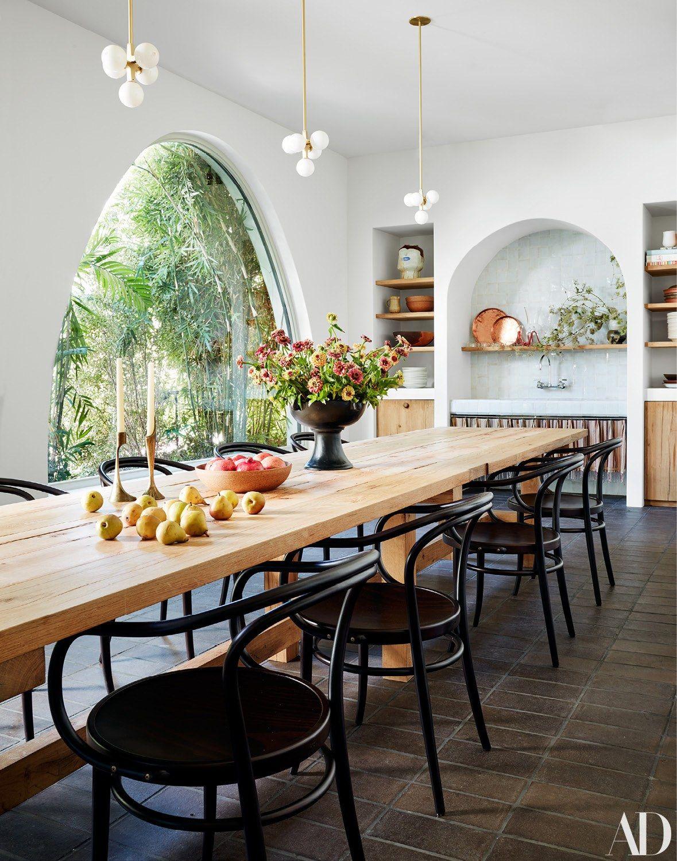 Get The Full Tour Of Studio Shamshiri S Los Angeles Office Home House Interior Dining Room Design