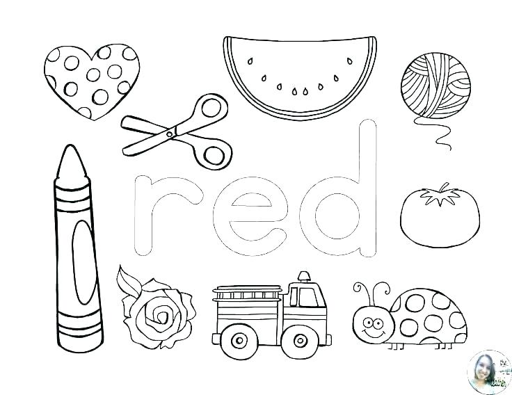 The Color Red Worksheets For Preschool Google Search Preschool Colors Preschool Color Activities Color Activities