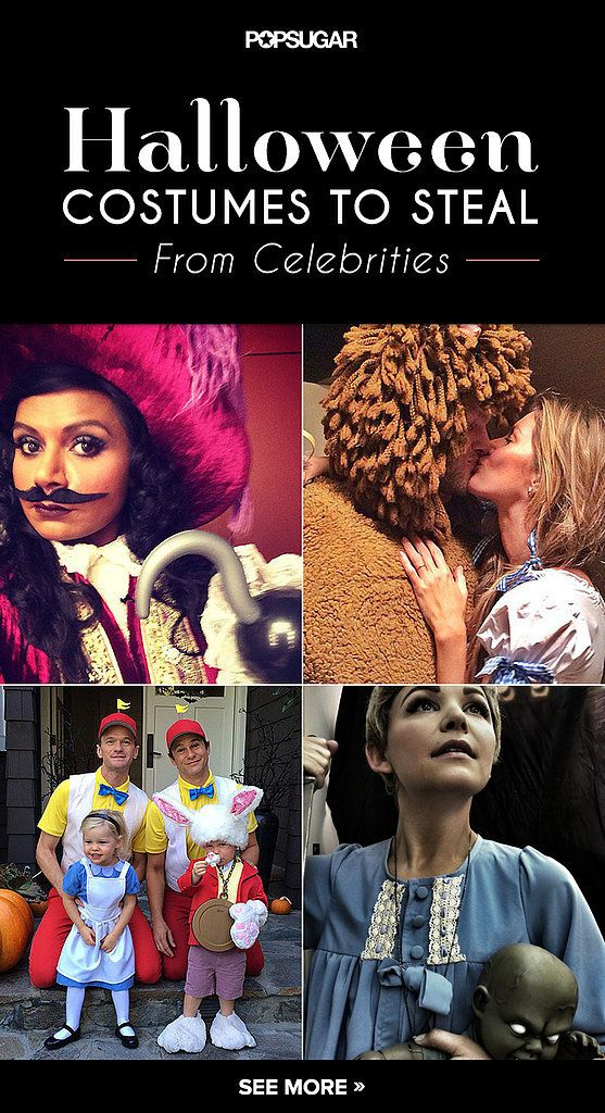 The All-Time Best Celebrities in Pop Culture Halloween Costumes - pop culture halloween ideas
