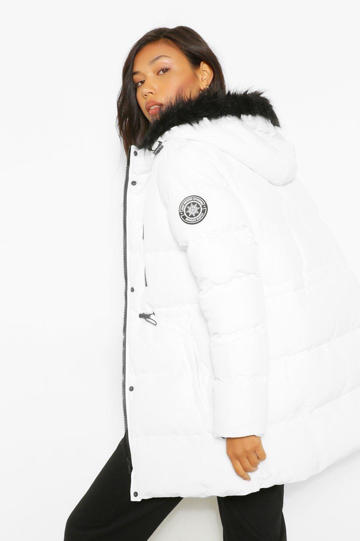 Luxe Technical Faux Fur Trim Parka Boohoo Parka Fur Trim Latest Coats [ 1500 x 1000 Pixel ]