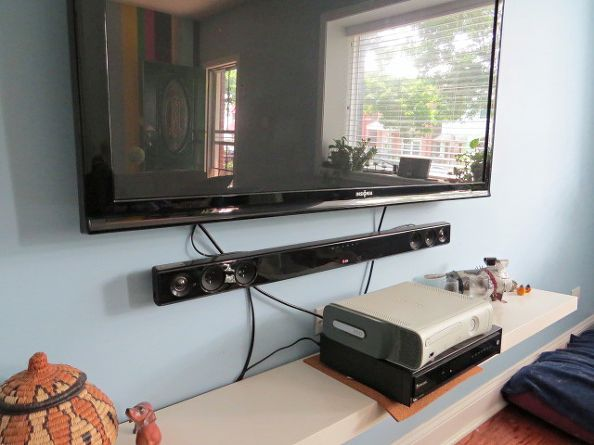 Easy Peasy Hide Your Tv Cables And Wires Cable Home
