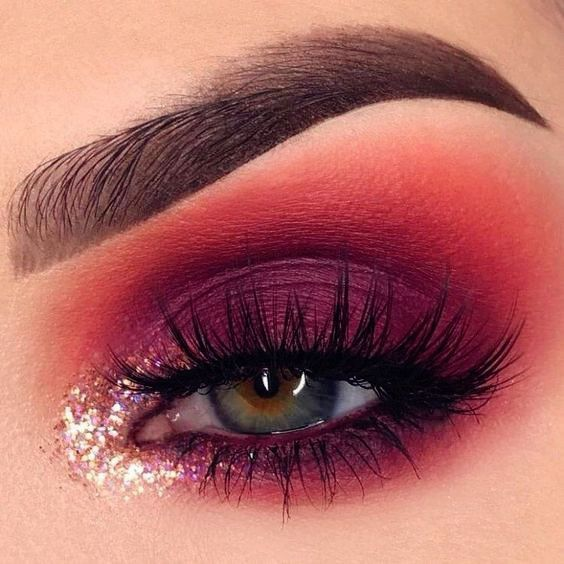 14 shimmering eye makeup ideas for breathtaking eyes - samantha fashion life -  14 shimmering eye m