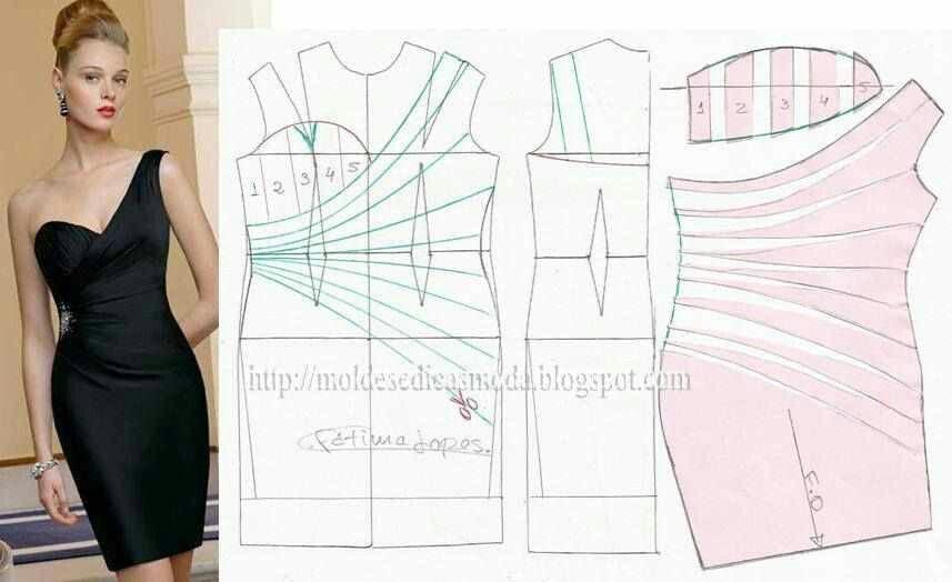 Bridesmaid Dress pattern.