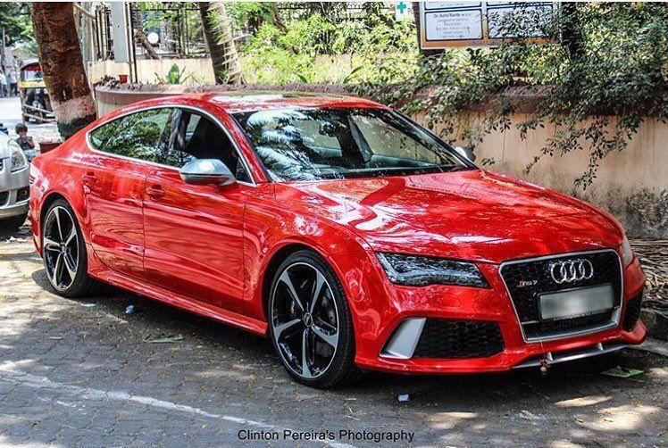 Instagram Photo By Audi Driven Apr 30 2016 At 6 45am Utc Red Audi Audi Audi Rs7