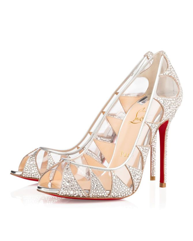 cfd7f83d0d8 Christian Louboutin Indera Strass 100mm