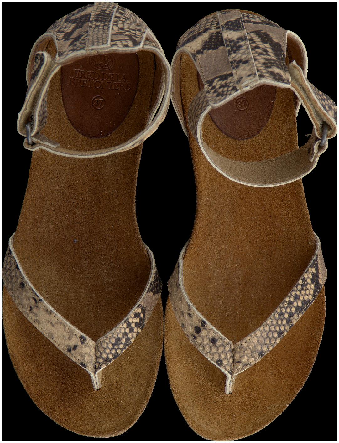 Beige Fred De La Bretoniere Sandalen 304027 Sandalen Schoenen Beige