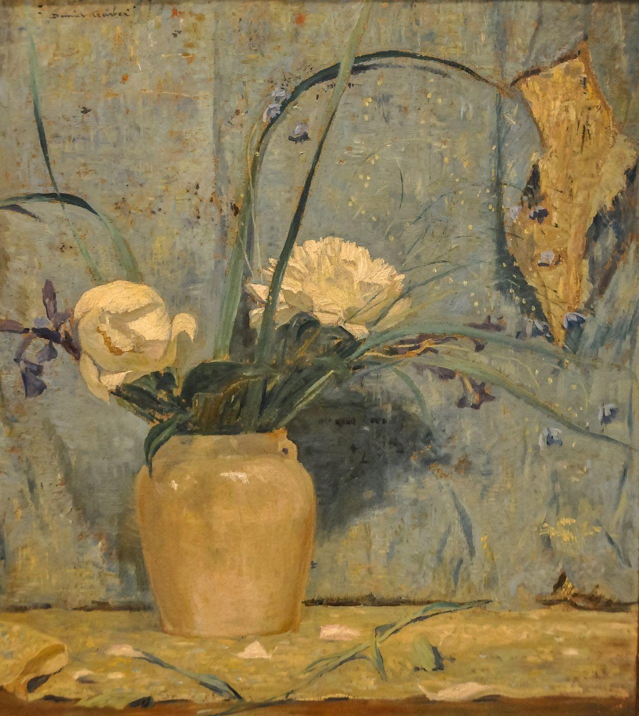Daniel Garber Peonies 1922 At The Museum Of Art Philadelphia Pa 1000 Philadelphia Museum Of Art Art Art Museum