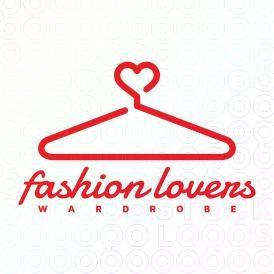 Fashion Lovers Wardrobe Logo Clothing Brand Logos Fashion Logo Design Advertising Logo