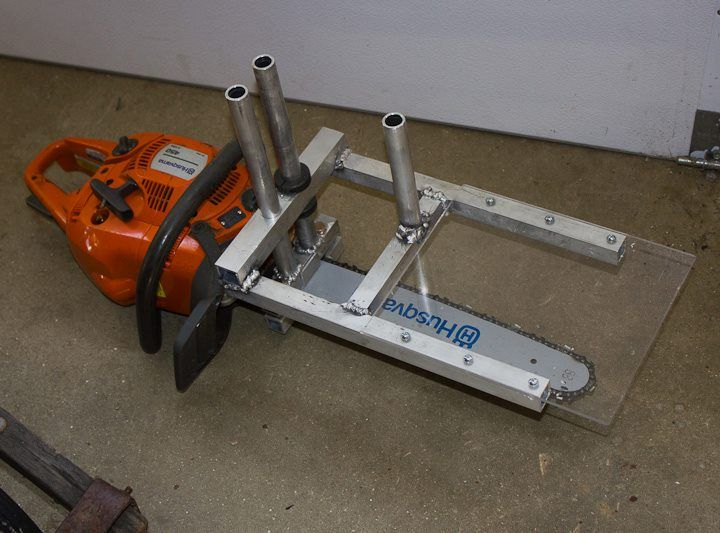 Zac built alaskain mini sawmill garage idea pinterest for Garage mini 77