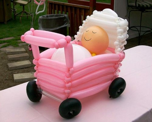 Arreglos con globos para fiestas tematicas de bebes - Decoraciones para bebes ...