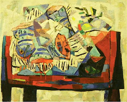 Still Life Composition 3 1950 Abraham Rattner Abraham