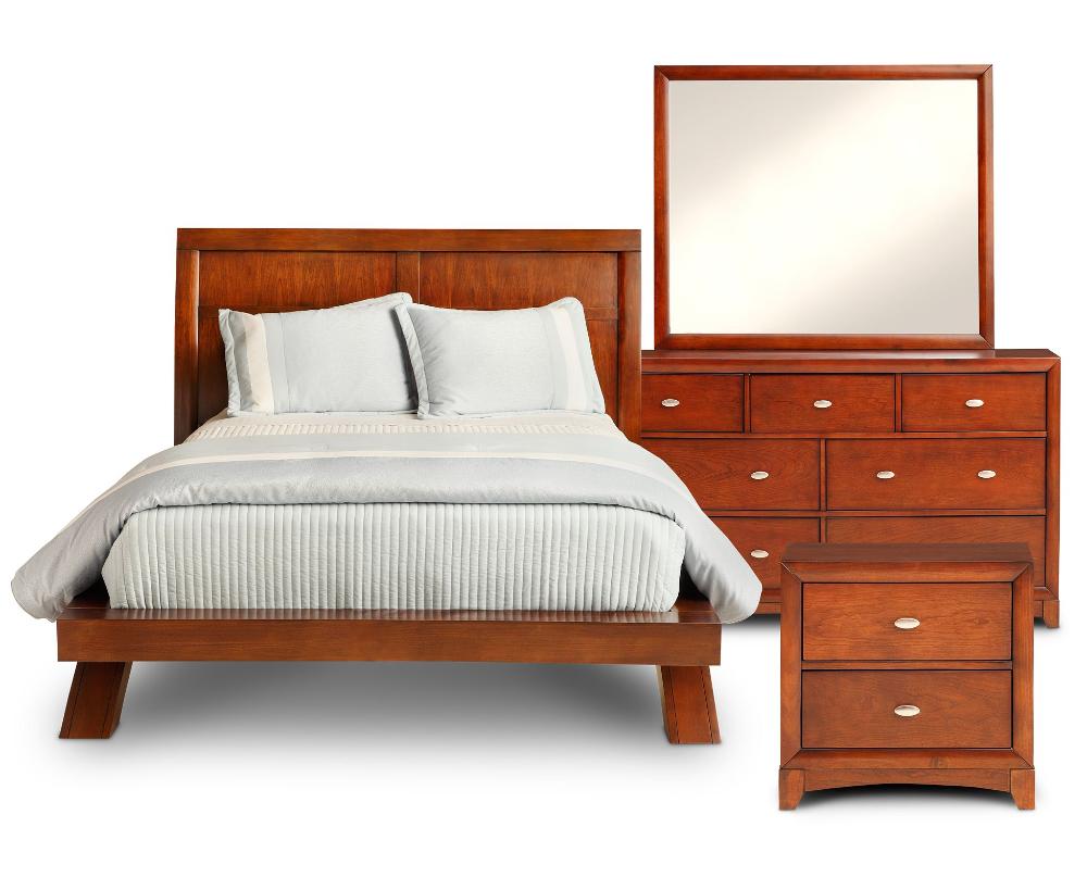 Grant Park Platform Bedroom Set Furniture Row in 2020