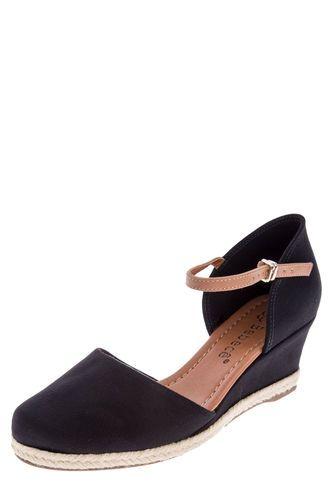newest 27ae2 61989 Sandalia Tacón Corrido Bebecê Negro Bebece Tiendas De Moda Online, Comprar  Zapatos, Correr,