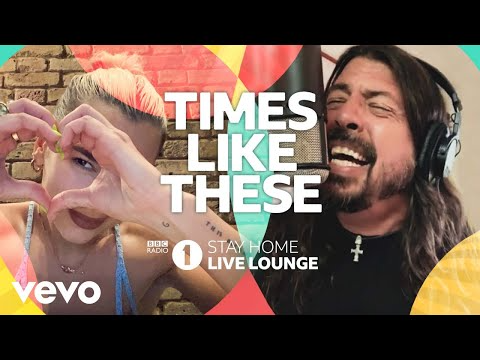 Live Lounge Allstars Times Like These Bbc Radio 1 Stay Home Live Lounge Youtube In 2020 Bbc Radio 1 Bbc Radio Foo Fighters