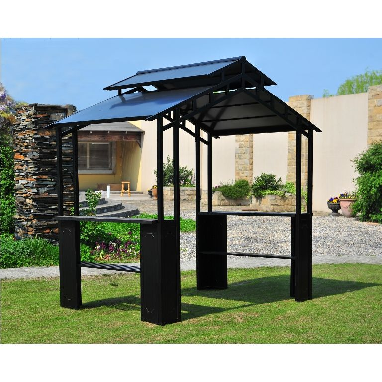 Exterior: Contemporary Windsor Grill Gazebo Big Lots From Grill Gazebo For  Backyard