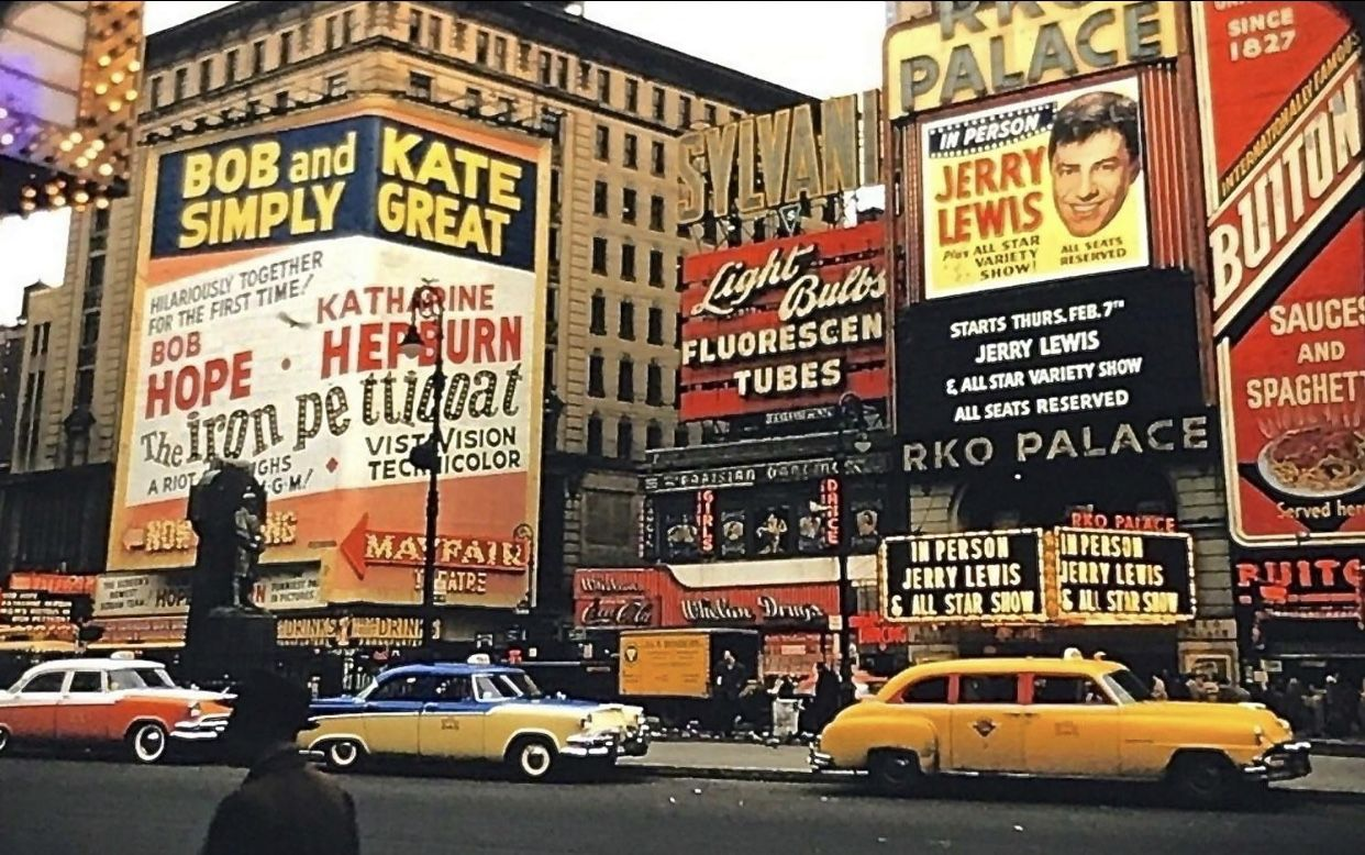 Times Square (1956) photographer unknown Nyc times