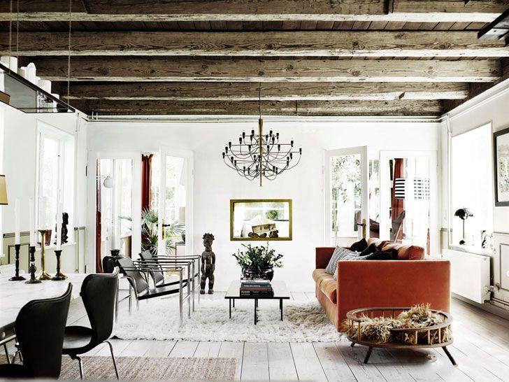 Skromnyj Snaruzhi Izyskannyj Vnutri Dachnyj Domik V Danii Foto Idei Dizajn Rustic Country Bedrooms Scandinavian Style Bedroom Apartment Design