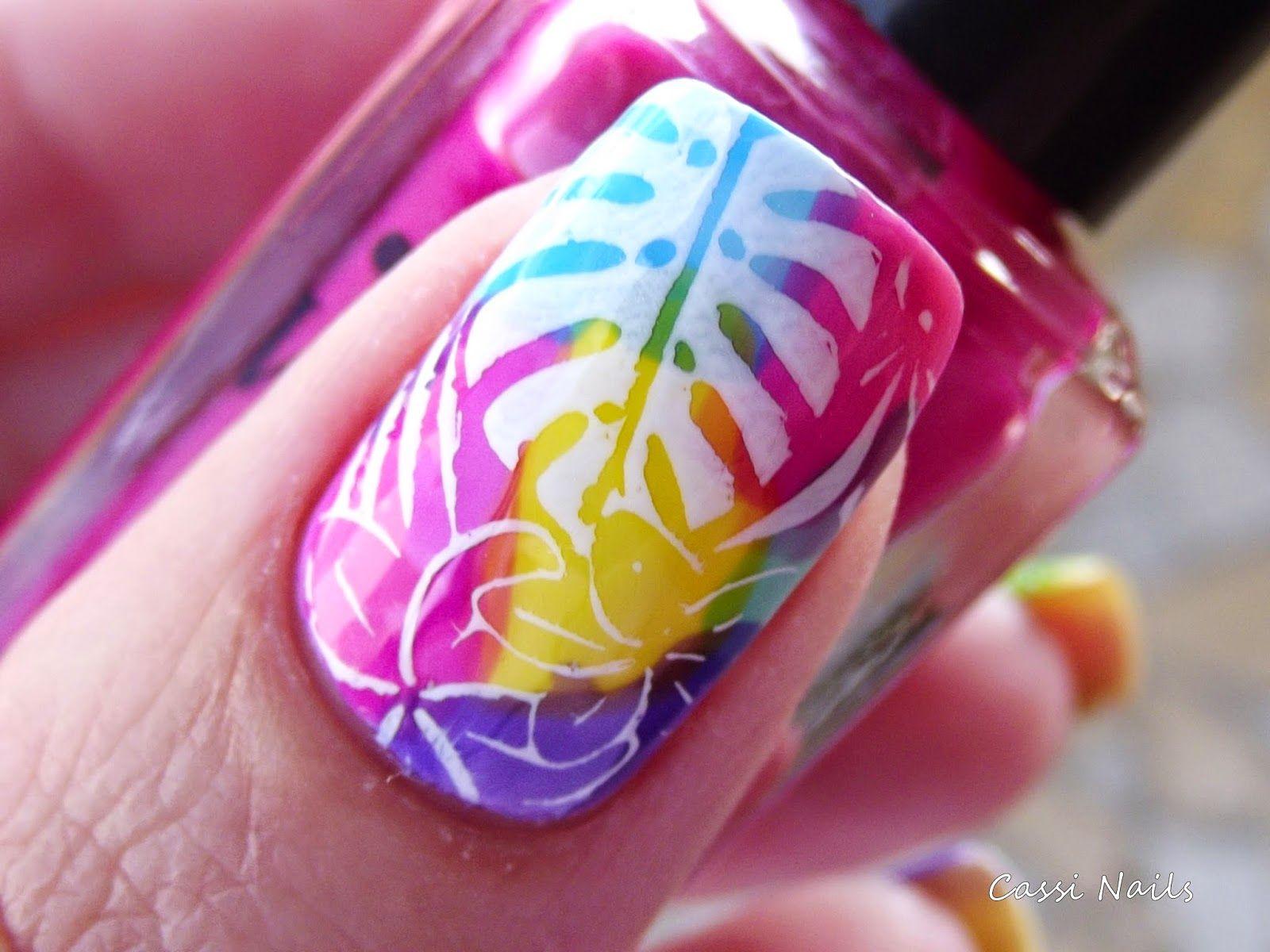 Cassi Nails: TC Colors Whatcha, Tropical 04