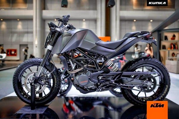 Ktm 200 Duke T Kunka Concept The Darkness Ktm From Thailand