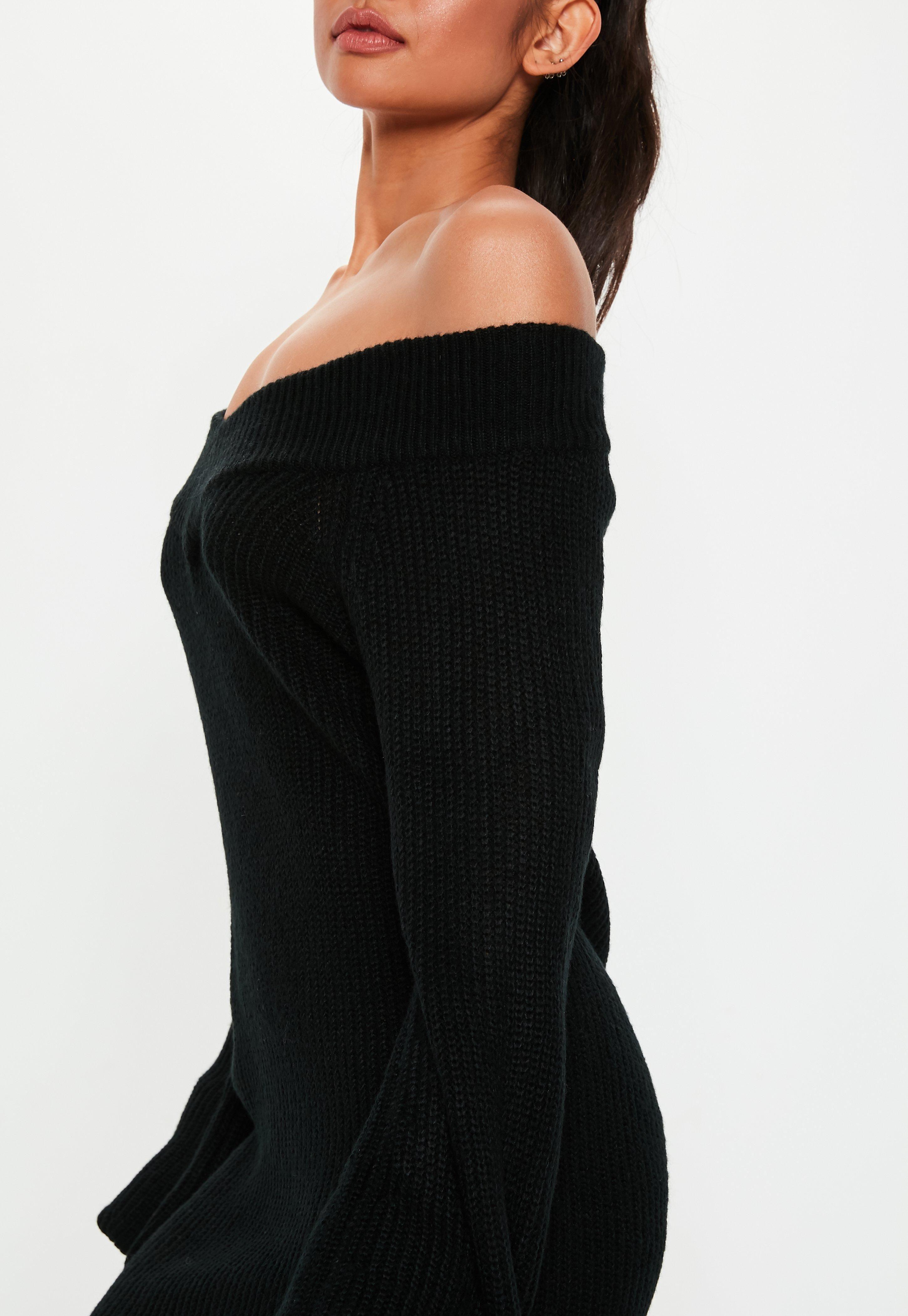 d44fca8bd78 Petite Black V Neck Sweater Dress  Sponsored  Black