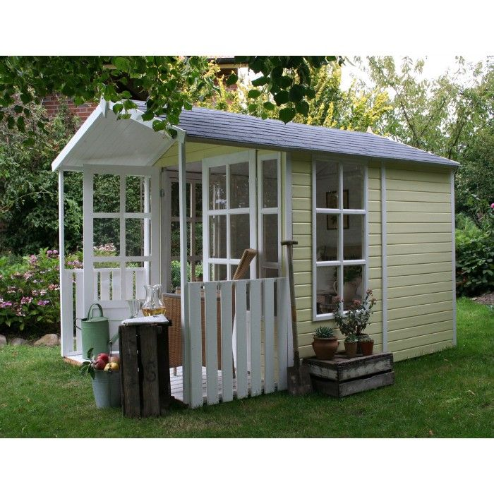 Und Das Ist Noch Toller Garten Und Geratehaus Modell Laura Gartenhaus Garten Haus