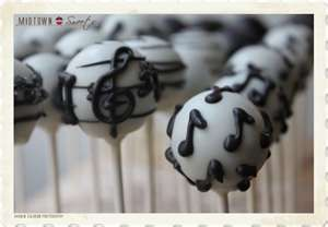 Music Cake Pops   Midtown Sweets