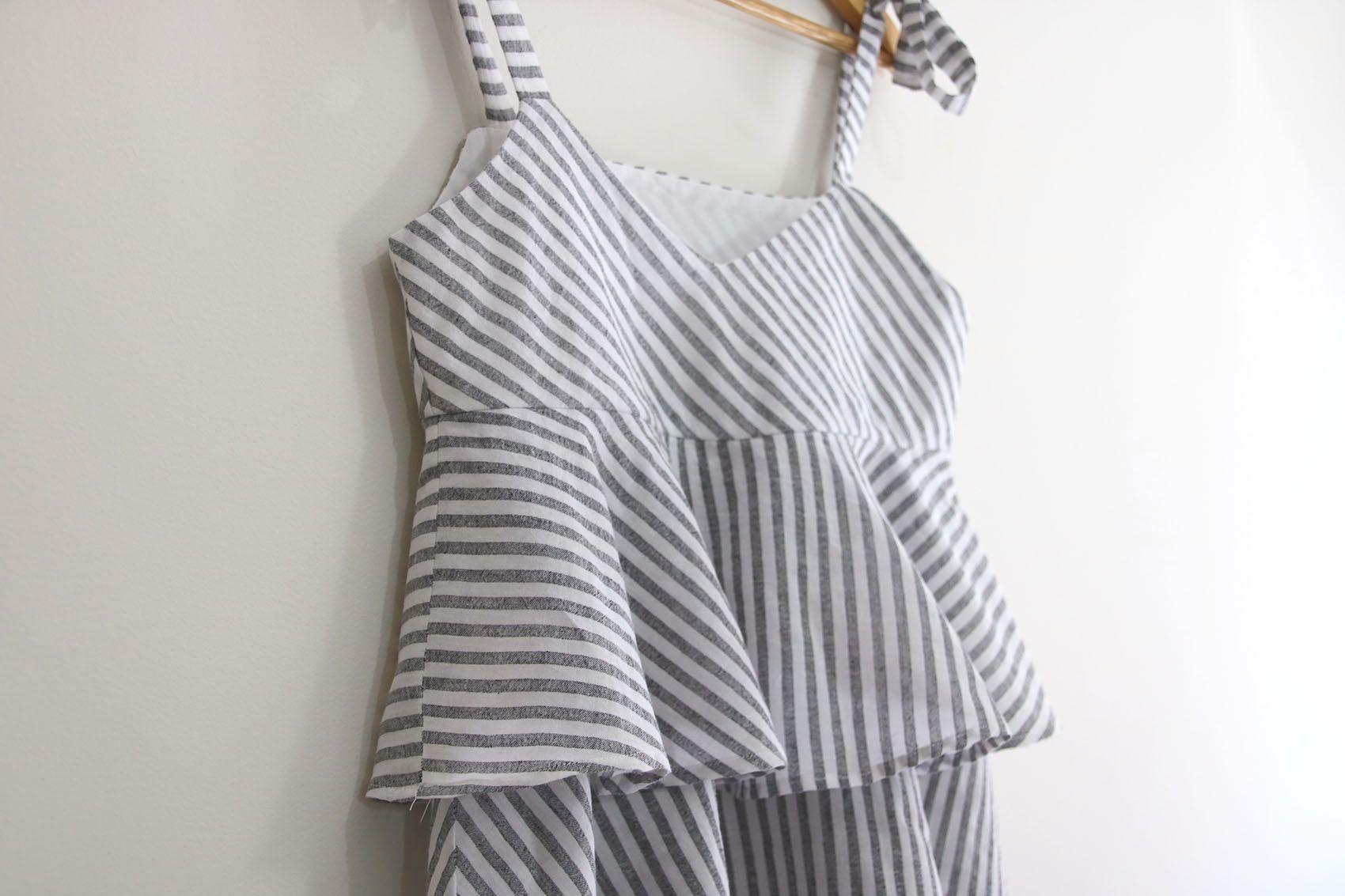 Costura: Blusa con volantes para mujer (patrones gratis) | | Oh ...