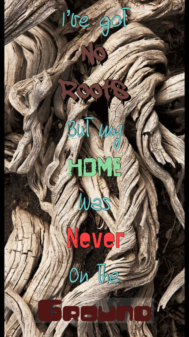 From No Roots by Alice Merton *Originally Made by Erin