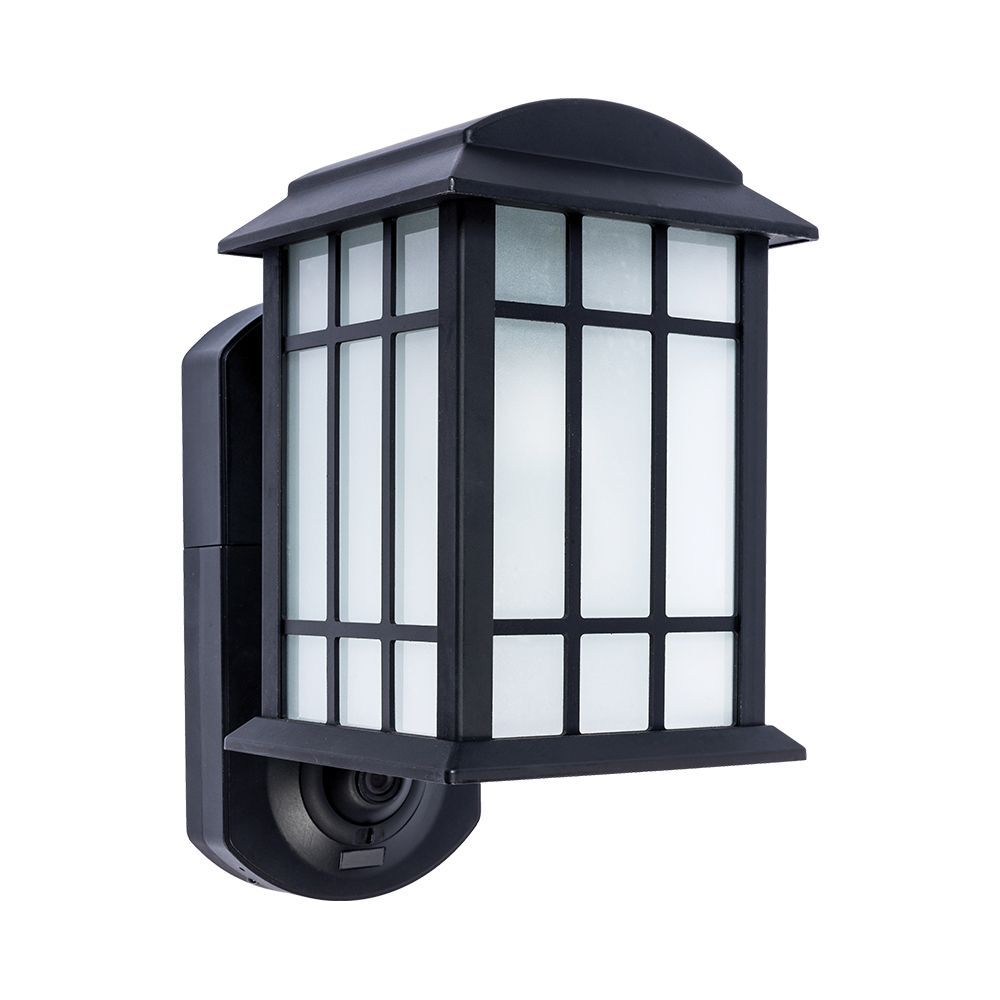 Maximus Craftsman Smart Security Outdoor Wall Lantern | Spy ...