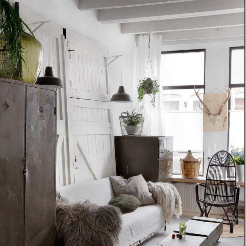 Case e Interni: [piccoli spazi] Interni parigini retrò chic in 52 mq ...