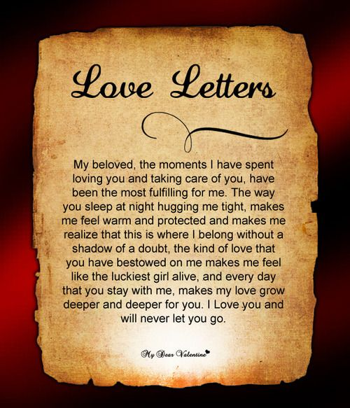 beautiful love letter to my husband