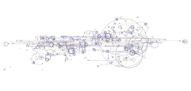 Artist draws the blueprints for music space and architecture artist draws the blueprints for music space and architecture itself the blueprintbusiness designhand malvernweather Image collections