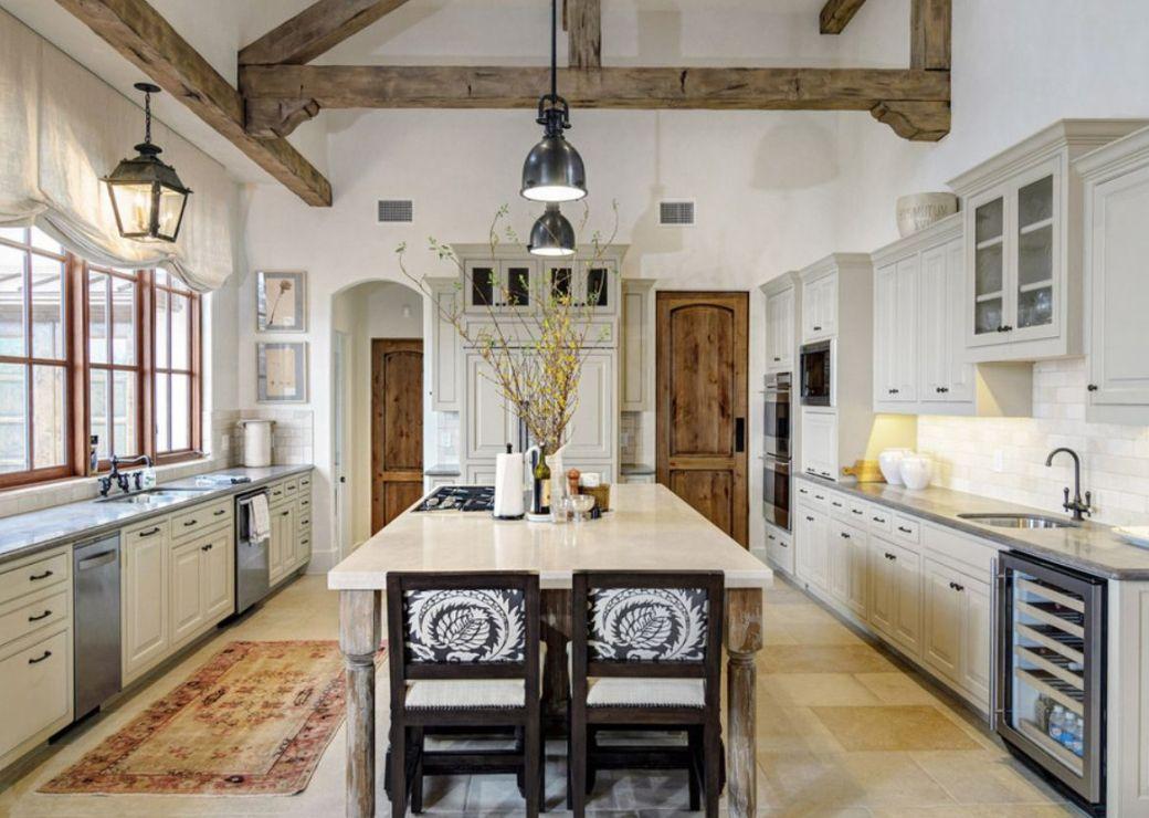 Design Of Modern Rustic Kitchen Decor