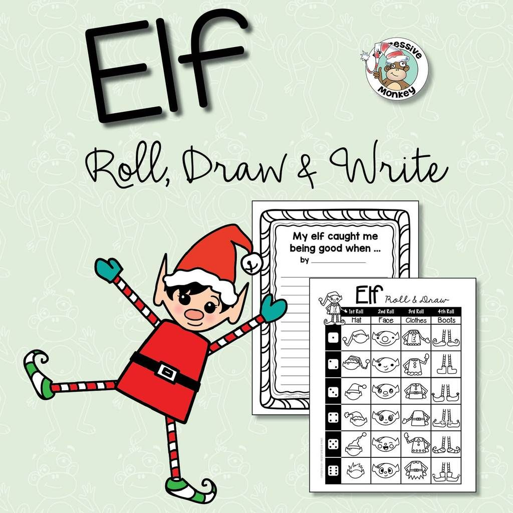 Elf Roll Draw Amp Write