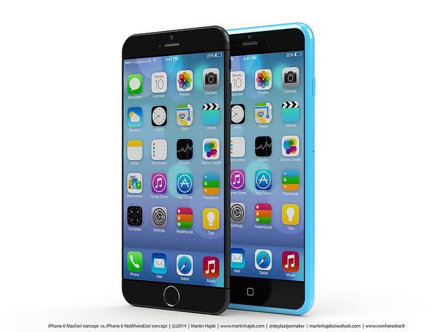 Apple iPhone 6 rendered by Martin Hajek.