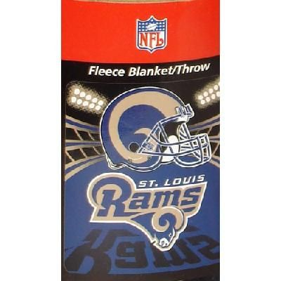 RAMS NFL BLANKET FLEECE 40 X 40 FREE SHIPPING Blankets And Interesting Nfl Blankets And Throws