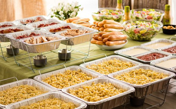 Olive Garden Catering Create Your Own Pasta Station 30 Guests