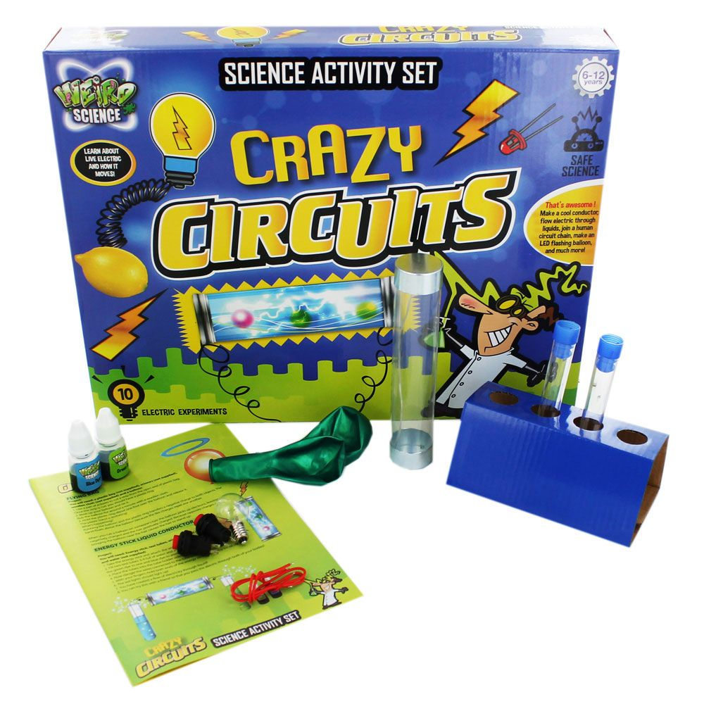 Buy Weird Science - Crazy Circuits Science Set online from The Works ...