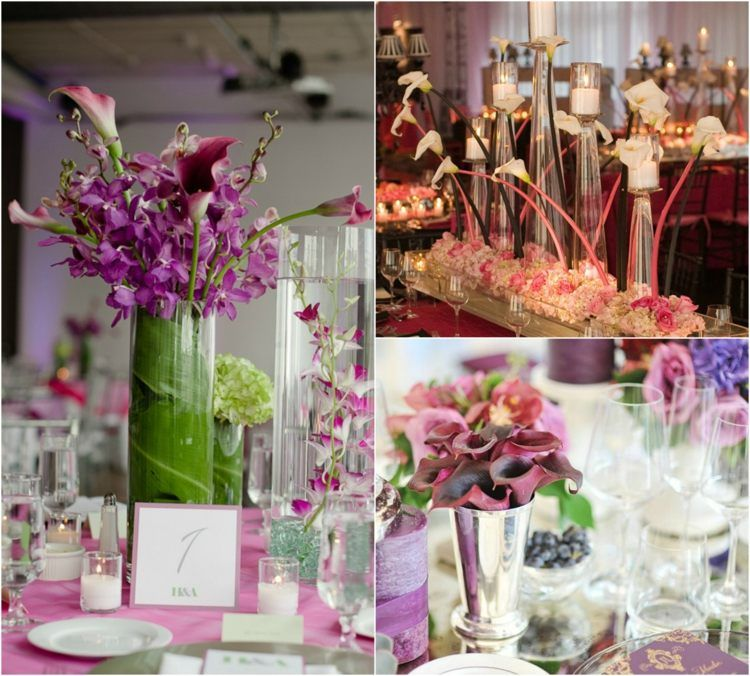 composition florale mariage id es de d co de table avec. Black Bedroom Furniture Sets. Home Design Ideas
