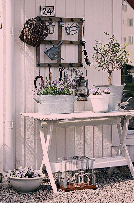 Photo of Vorgartengestaltung im Vintage Stil: 26 schicke Gartendeko Ideen