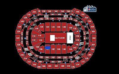 2 Lady Gaga Concert Tickets Denver Pepsi Center 12 12 17 S104 Row