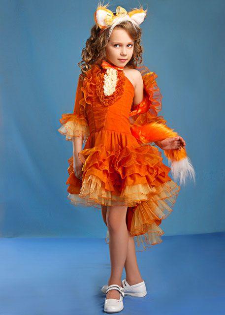 Костюм лисы для девочки своими руками выкройка фото 730